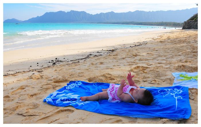7) Hit the beach.