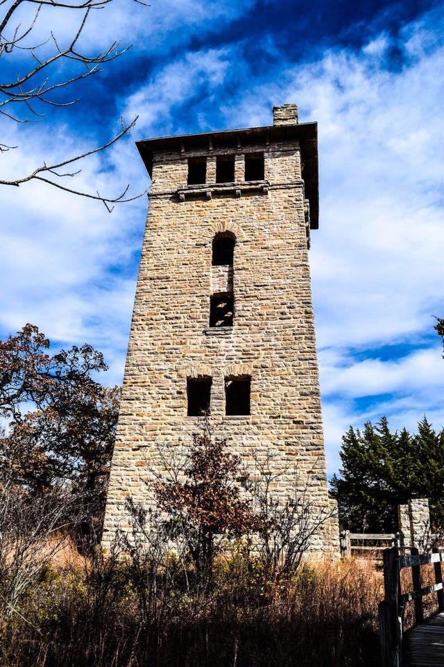 7.The water tower at Ha Ha Tonka State Park just outside of Camdenton by Bear Randolph.