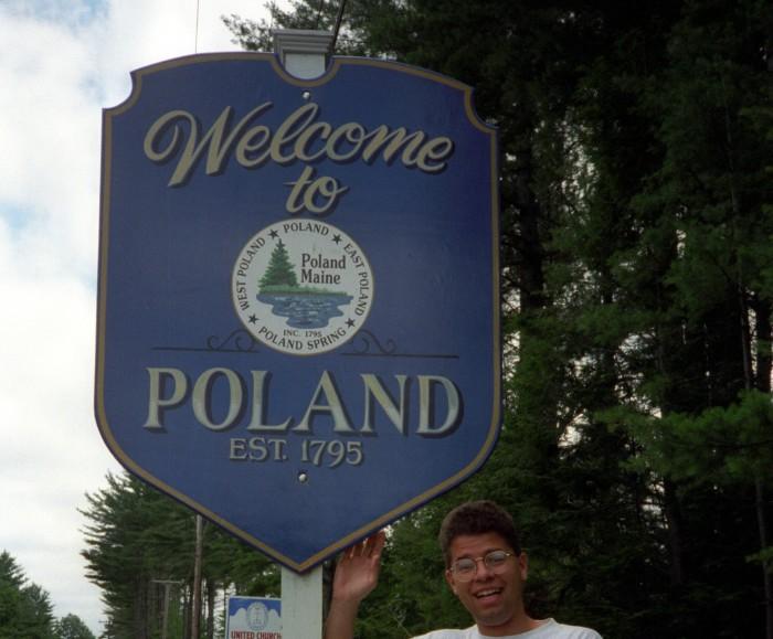1. Poland, Maine
