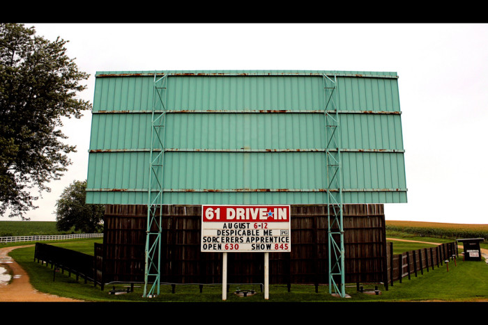 6. Better yet, we would go to a drive-in theater.