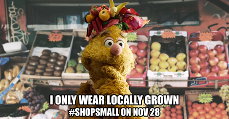 8. Save your shopping for Small Business Saturday.