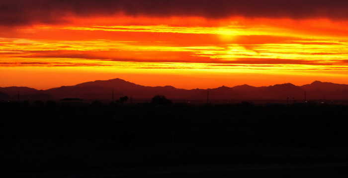 12. Speaking of all this sunlight, Arizona sunrises and sunsets never disappoint. Can you think of a better start or end to your day?