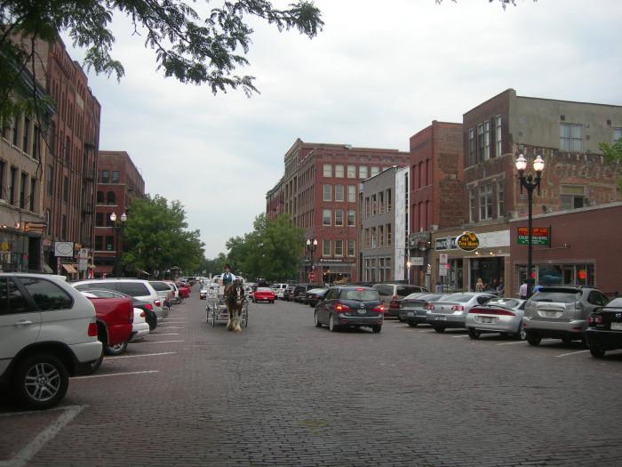 31. Visit the historic Old Market, Omaha