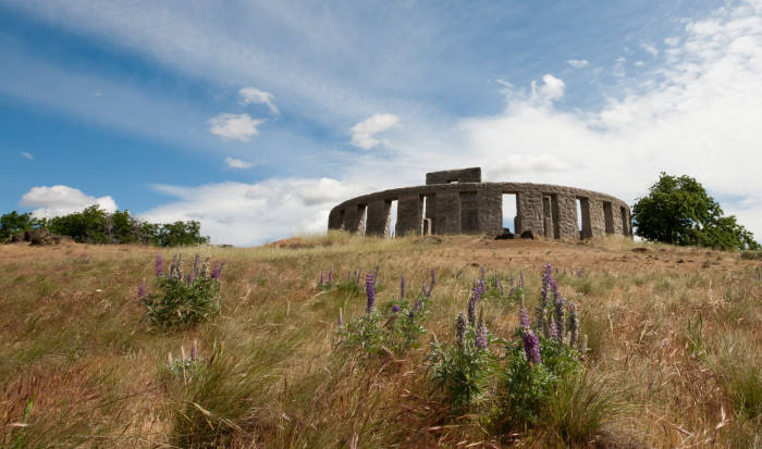 10. Stop by the Stonehenge Memorial in Maryhill.
