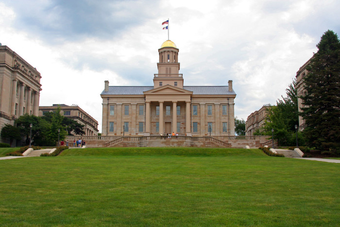 7. And if that's not enough, Iowa City was named one of six UNESCO Cities of Literature, alongside Edinburgh and Dublin.