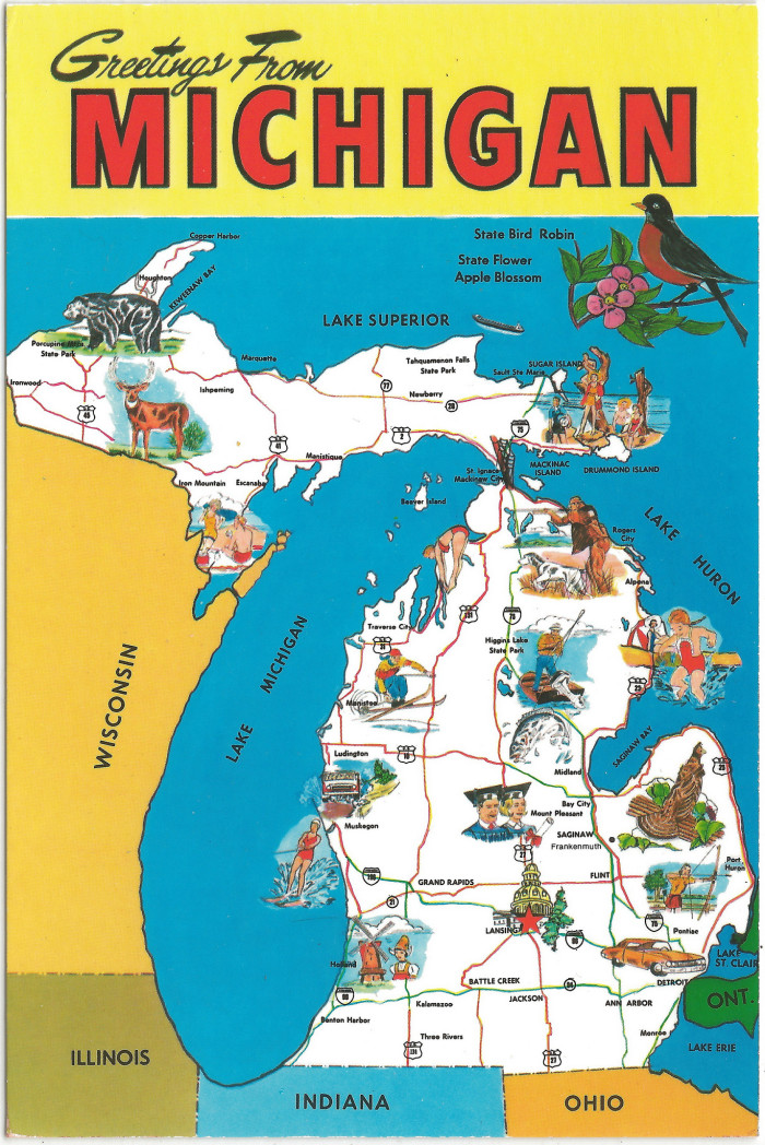 6) So how big really is Michigan?