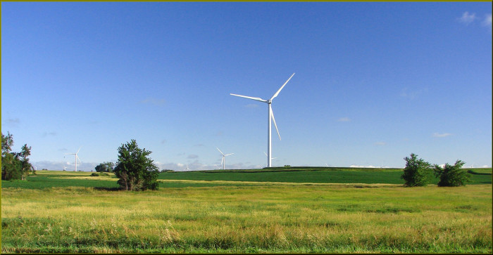7. Iowa also produces a large portion of the nation's wind energy.