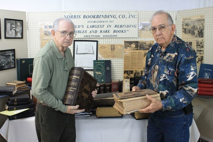 7. Servicing all 50 states, Greenwood's Norris Bookbinding Company is the largest Bible repair company in the entire country.