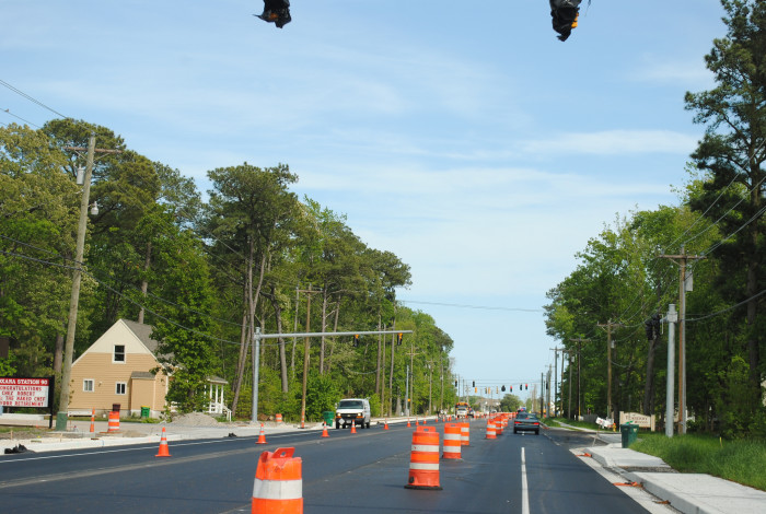 4. Spring is just a huge cluster of construction projects.