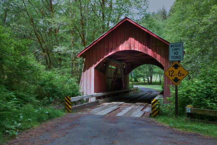 North Fork of the Yachats Bridge.