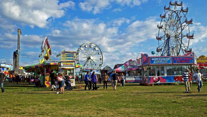 8) The Alaska State Fair!