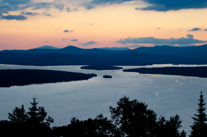 6. Rangeley Lakes National Scenic Byway