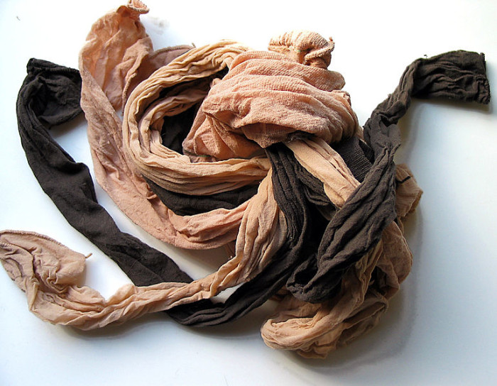 17. Men and women can wear pantyhose under their clothes for an extra layer of winter warmth. It's an old hunting trick - or maybe a lumberjack one?
