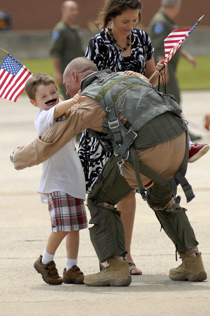 4. We absolutely love our troops....