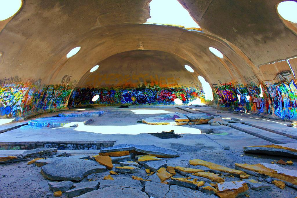 Abandoned Domes In Arizona