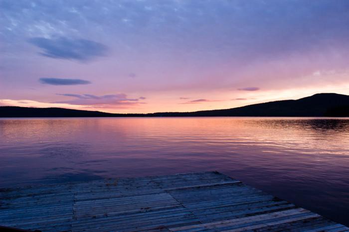 7. Mystical Rangeley Lake.