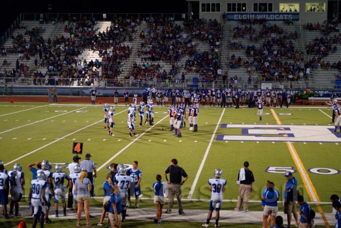 4. High school football was your life on Fridays.