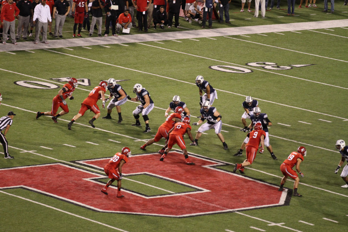 "12. Attend the ""Holy War"" football game between the University of Utah and BYU."