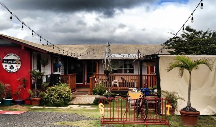 8) Small Town Coffee Company, Kapaa