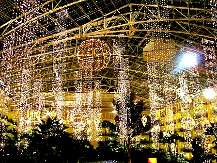 8) The gorgeous lights at Opryland Hotel.