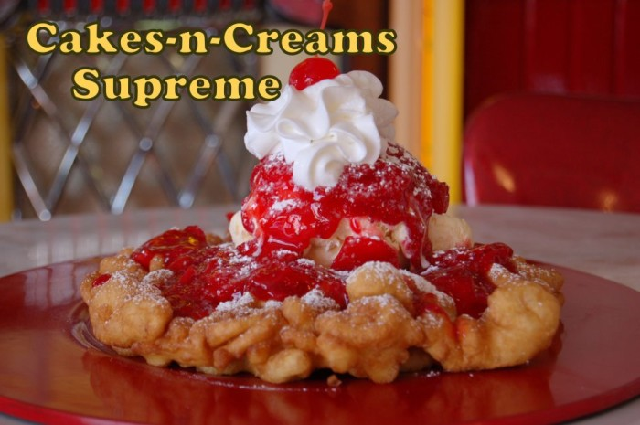 8.The Famous Cakes-N-Creams Supreme, Cakes-N-Creams, Branson