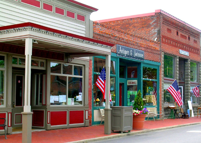 8.Friendly, welcoming, and historic small towns.