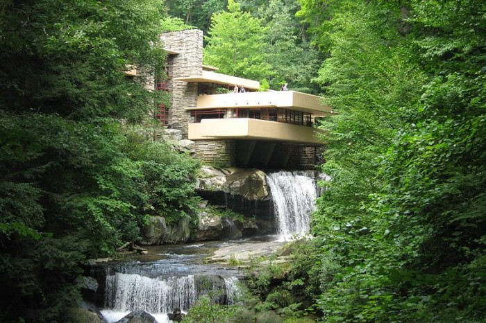 3. Admire the masterpiece that is Fallingwater in Mill Run.