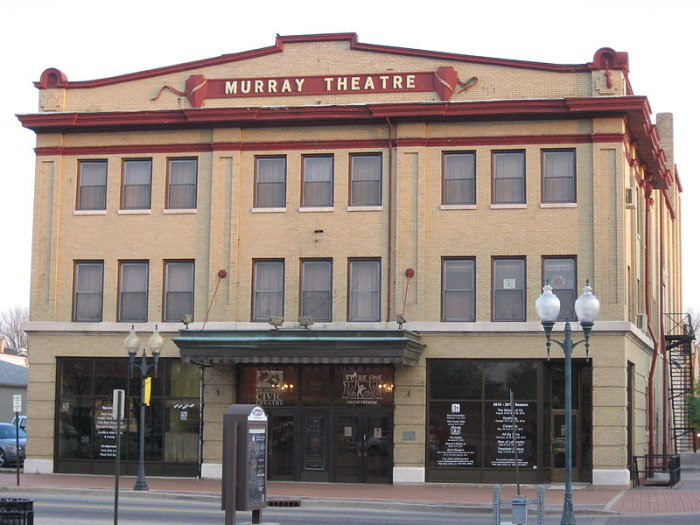 4. This is the Murray Theater in Richmond, Indiana. It was also built in 1909.