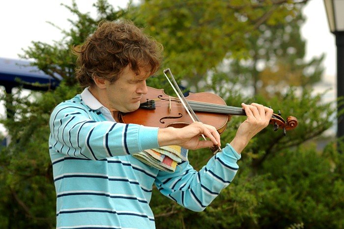 3. In Augusta, it is illegal to walk down the street playing the violin.