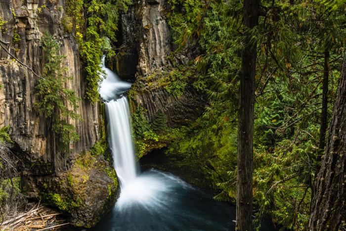 6. Toketee Falls