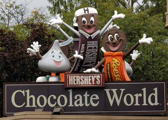 22. Hershey's Chocolate Factory, Hershey