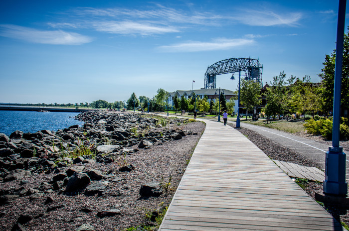 7. The Duluth Lake Walk