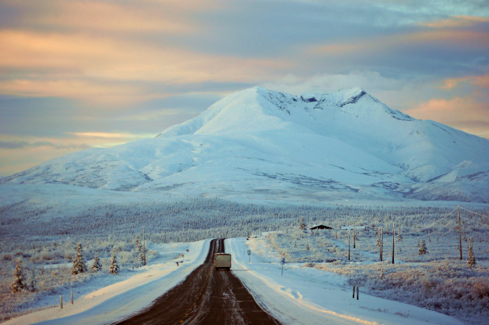 4) Some of the most gorgeous vistas exist in Alaska, it's hard not to be thankful for that!