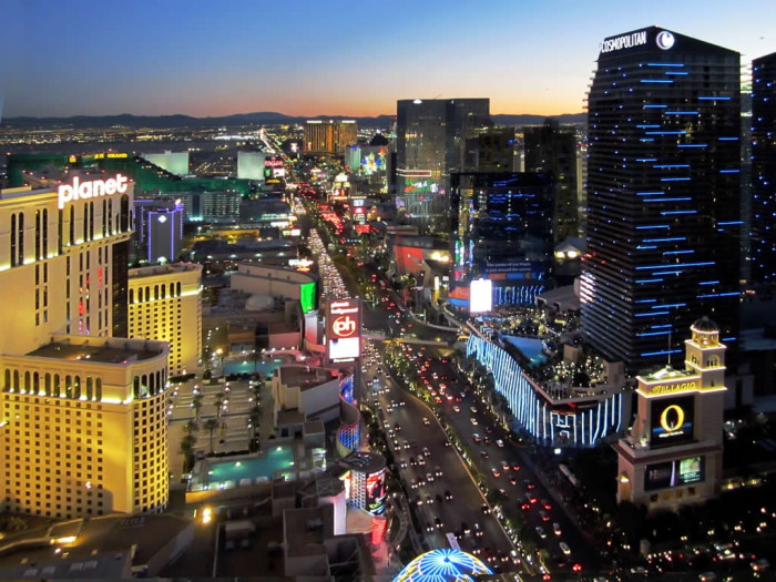 8. The Las Vegas Strip is far from glamorous.