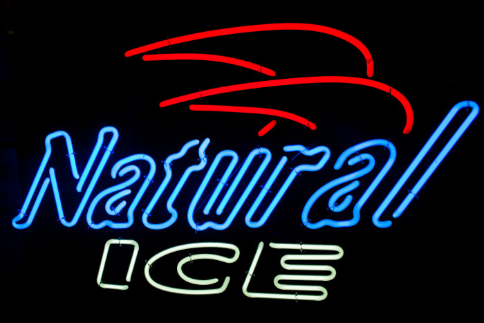 """8. """"After a long day, nothing satisfies quite like a cold Natty Light."""""""