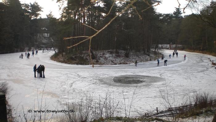 10) Real ice skating.