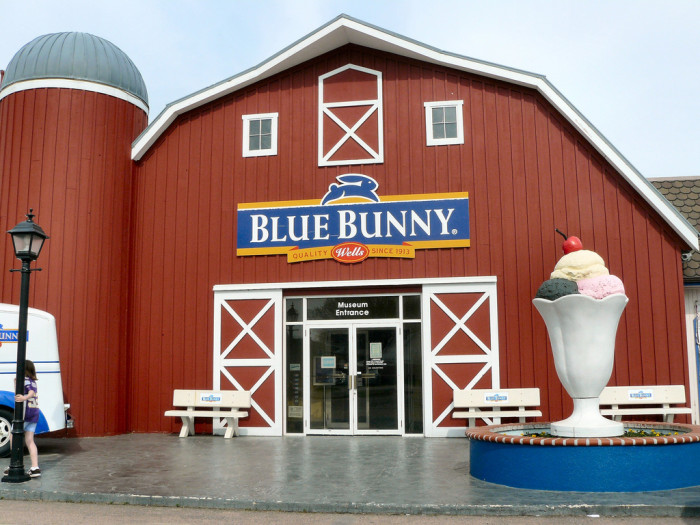 8. Blue Bunny ice cream.