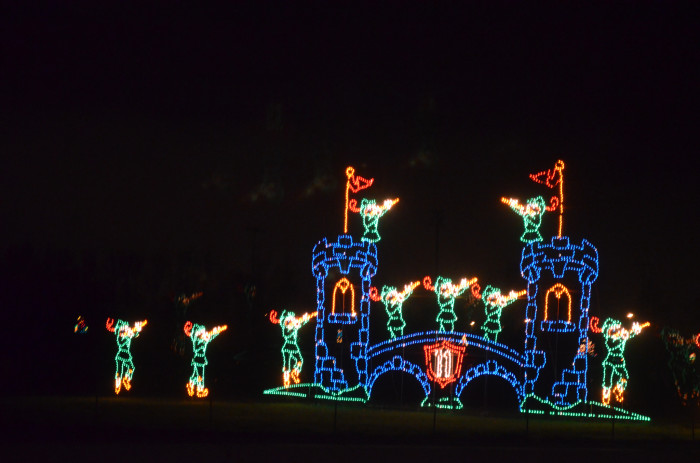 """2. Go check out one of Oregon's great winter light shows, like Winter Wonderland at the Portland International Raceway, which is called the """"Largest Holiday Light ShowWest of the Mississippi""""."""