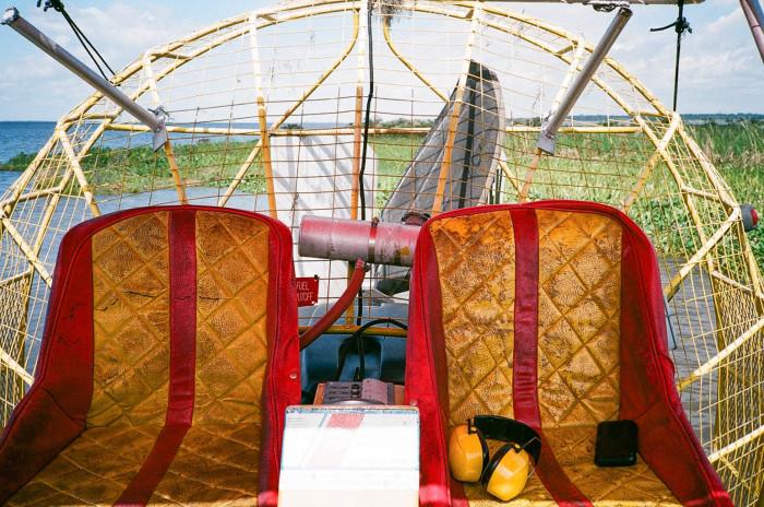 9. Air Boat Rides