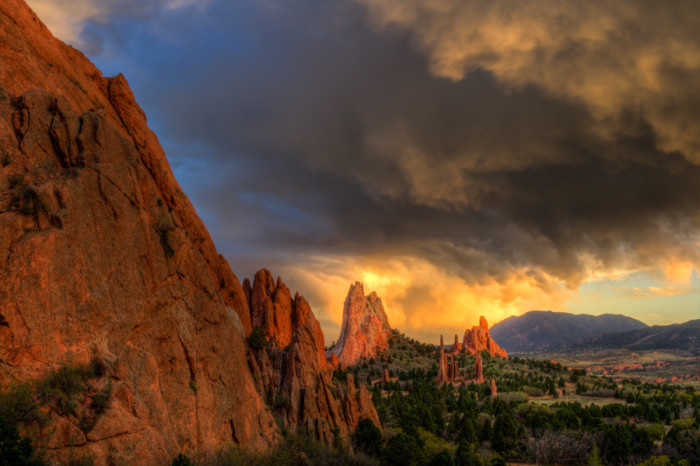 15. Gaze at the Garden of the Gods.