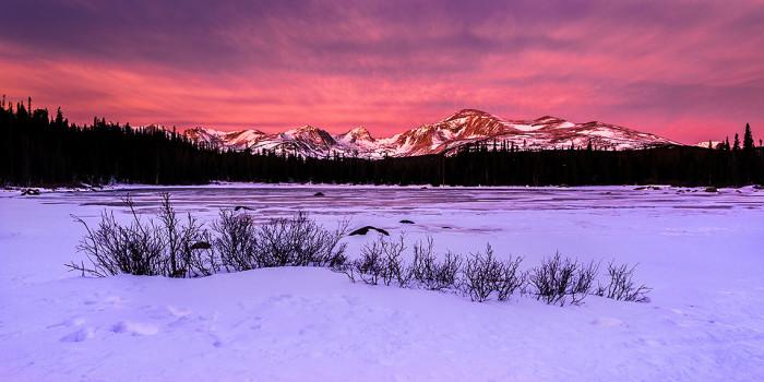 16. Ravishing Red Rock Lake