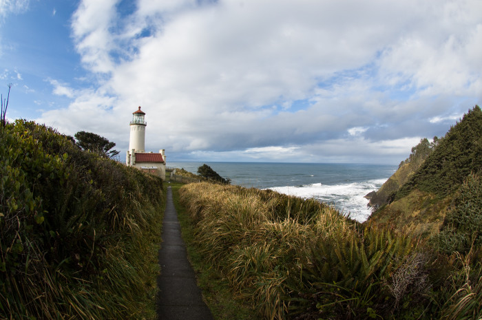 4. A relaxing scene by Cape Disappointment.