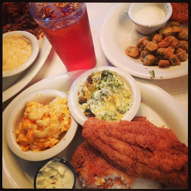4. How much we love southern food