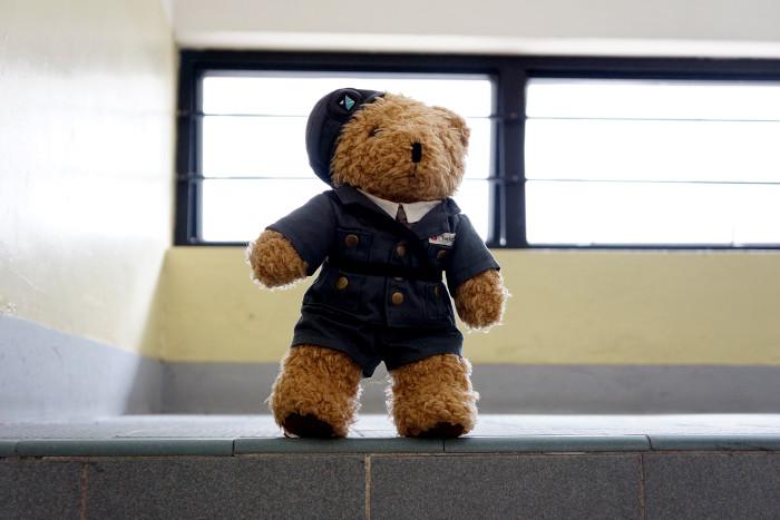 10. ...and teddy bears.