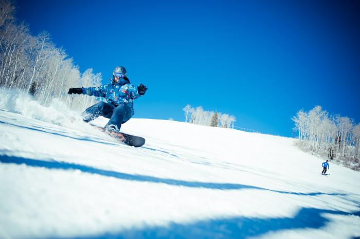 12. Ski or snowboard.