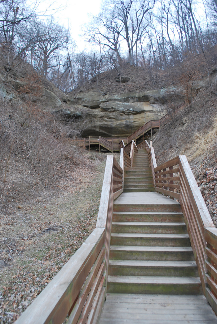 20. Indian Cave State Park, Shubert
