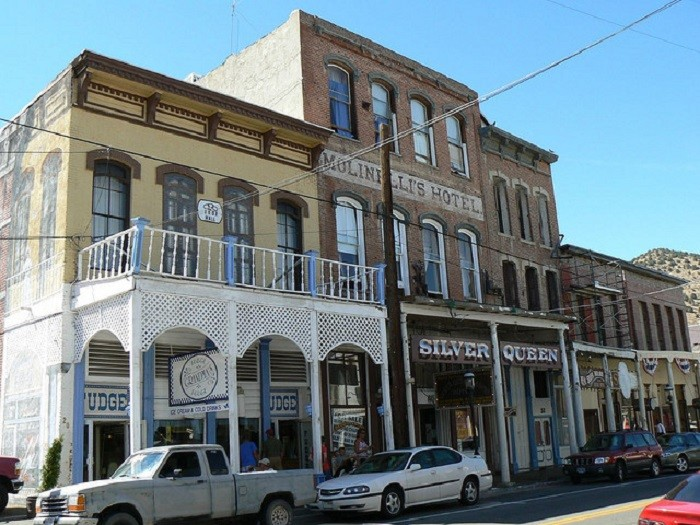 6. The historic and haunted Virginia City.