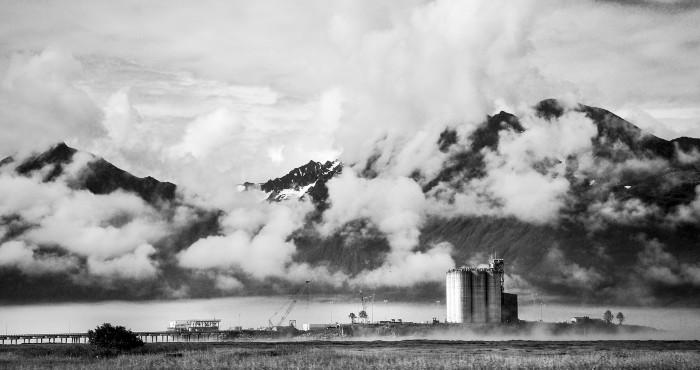 4) A misty trip to Valdez.