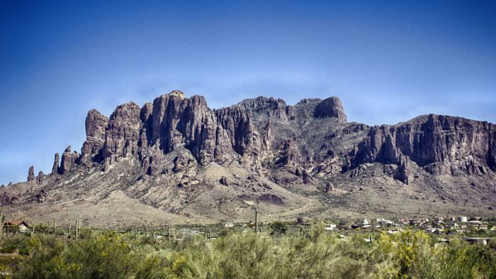 7. Superstition Mountains