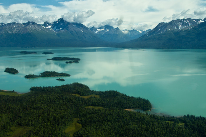 5) Lake Clark.